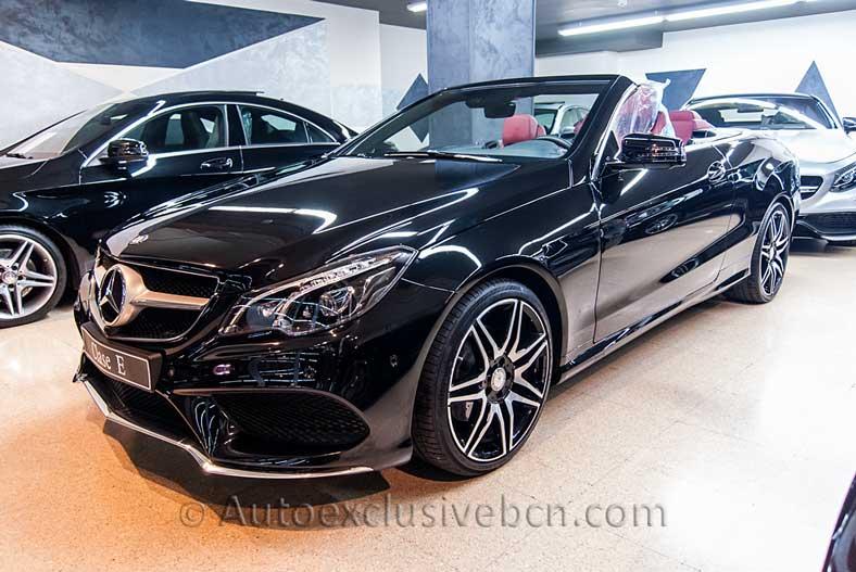13-Mercedes-Benz Clase E 250 Cabrio AMG PLUS