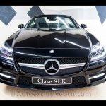 Mercedes SLK 350 AMG. 306 c.v. Negro Obsidiana Metalizado. Piel Negra. Navegador GPS. Paquete Dinámico. Vehículo Demostración. Garantía Oficial.