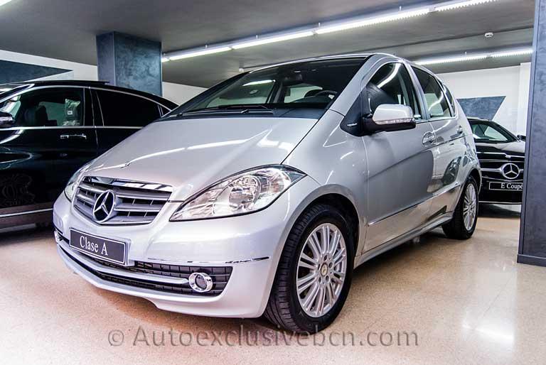 Mercedes Clase A 180 CDI Elegance - Autotronic - Plata Polar - Auto Exclusive BCN tu concesionario Ocasión Mercedes - Benz en Barcelona