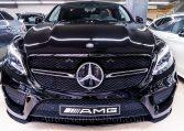 Mercedes-Benz Clase GLE 43 AMG Coupè - Negro Obsidiana - Piel Negra - Full Equip - Frontal - Auto Exclusive BCN tu concesionario de vehículos alta gama Ocasión - Demo- y Gerencia Mercedes-Benz en Barcelona -2