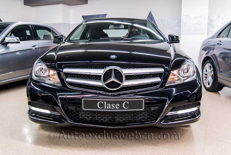 Mercedes Benz C 220 CDi Coupè- Negro - Auto Exclusive BCN