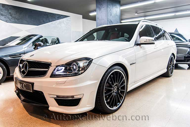 Mercedes C 63 AMG Estate - Blanco Diamante - Auto Exclusive BCN