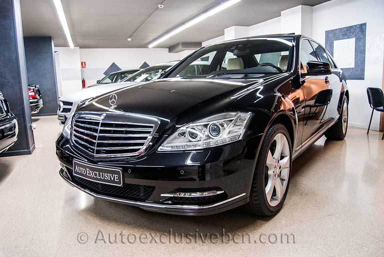 Mercedes S 350 BE - Negro - PIel Beige - Auto Exclusive BCN