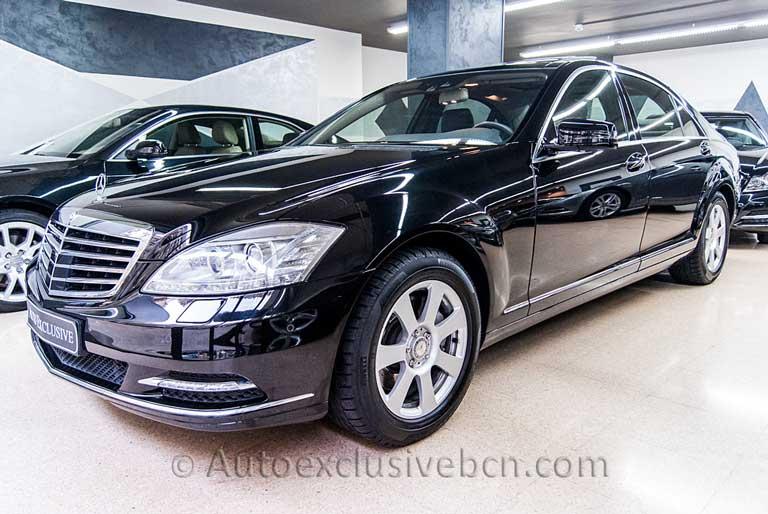 Mercedes S 350 BT Largo - Negro - Negro - Piel Negra - Auto Exclusive BCN