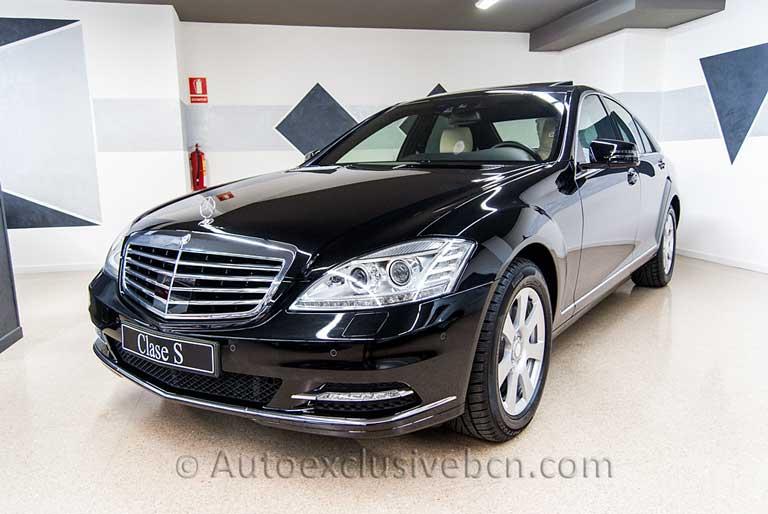 Mercedes S 350 BT -221 - Negro- Vehículo Ocasión Mercedes - Sección de Vehículos Vendidos - Experiencia - Consúltanos si quieres uno igual !! - Auto Exclusive BCN-13627227703_847c5c524a_o