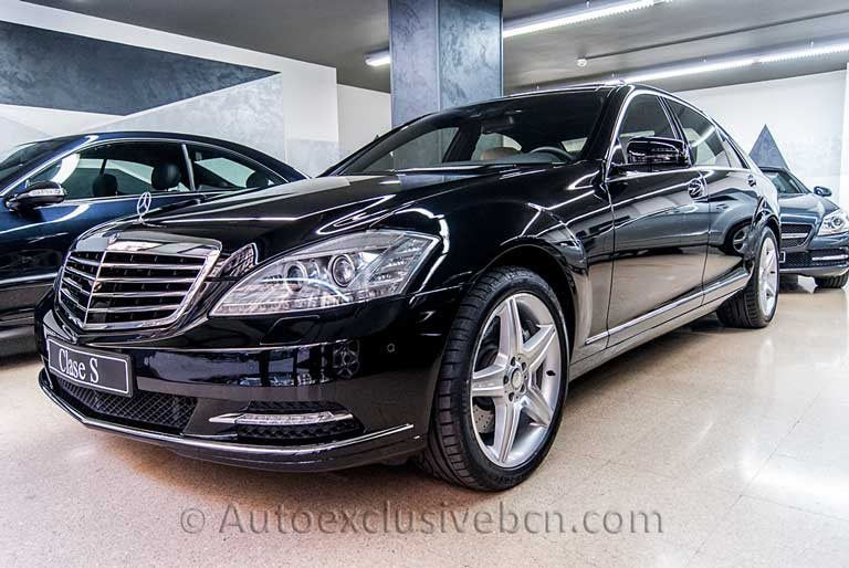 Mercedes S 500 Largo - Auto Exclusive BCN - Concesionario Ocasion Mercedes Barcelona