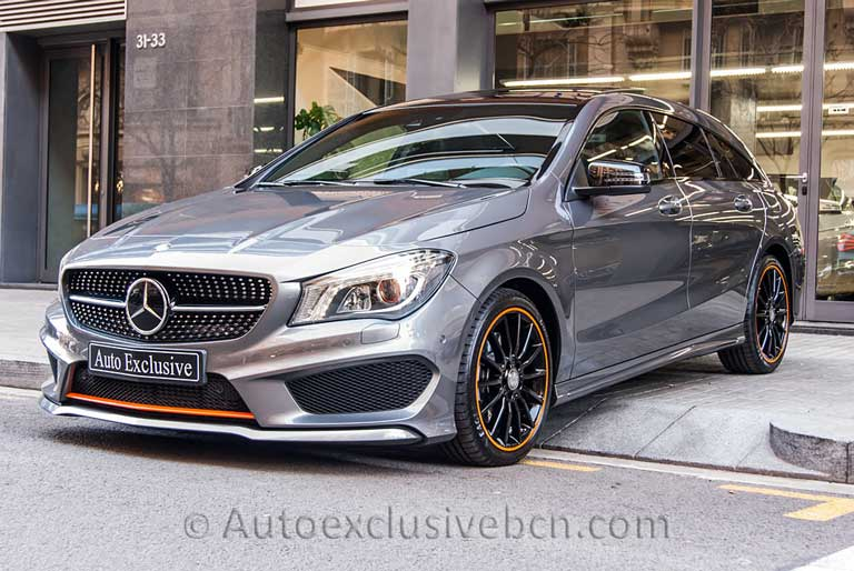 Mercedes CLA 250 Shooting Brake-Orange-ART---Auto Exclusive BCN-Concesionario-Ocasión-Mercedes Barcelona_DSC1884