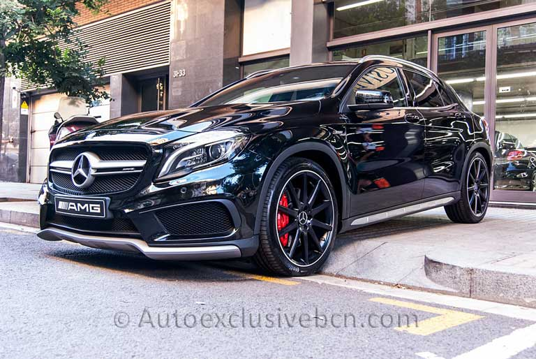 Mercedes GLA 45 AMG 4M---Negro---Auto-Exclusive-BCN---Concesionario-Ocasión-Mercedes-Barcelona_DSC3806