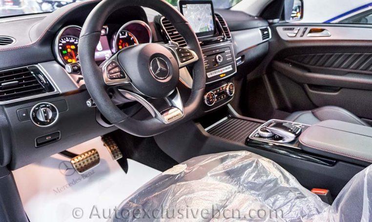 Mercedes-Benz GLE 43 AMG Coupè-Blanco-Auto-Exclusive-BCN-Concesionario-Ocasión-Mercedes-Barcelona_DSC4968