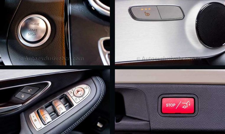 Mercedes GLC 250 4M AMG - Blanco - Auto Exclusive BCN - Concesionario Ocasion Mercedes Barcelona x4 detalle2