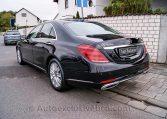 Mercedes S 350d 4M Corto -Negro-Piel Beige - Auto Exclusive BCN- Concesionario Ocasión Mercedes Barcelona_DSC8097