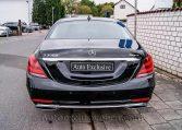 Mercedes S 350d 4M Corto -Negro-Piel Beige - Auto Exclusive BCN- Concesionario Ocasión Mercedes Barcelona_DSC8098