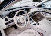 Mercedes S 350d 4M Corto -Negro-Piel Beige - Auto Exclusive BCN- Concesionario Ocasión Mercedes Barcelona_DSC8100