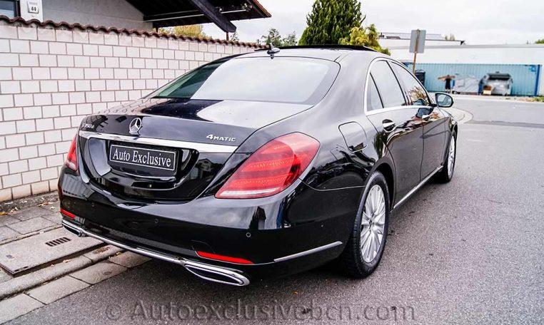 Mercedes S 350d 4M Corto -Negro-Piel Beige - Auto Exclusive BCN- Concesionario Ocasión Mercedes Barcelona_DSC8112