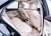 Mercedes S 350d 4M Corto -Negro-Piel Beige - Auto Exclusive BCN- Concesionario Ocasión Mercedes Barcelona_DSC8124