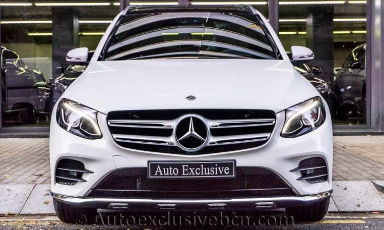 Mercedes GLC 250 4M - AMG - Blanco - Auto Exclusive BCN - Concesionario Ocasión Mercedes Barcelona_DSC5842