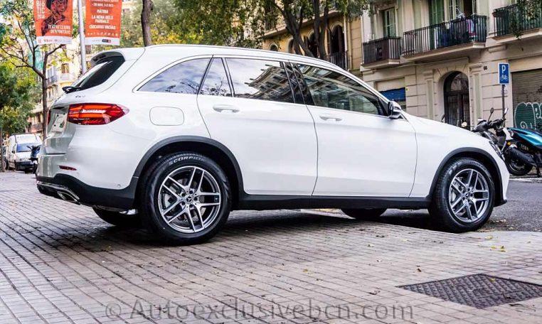 Mercedes GLC 250 4M - AMG - Blanco - Auto Exclusive BCN - Concesionario Ocasión Mercedes Barcelona_DSC5858