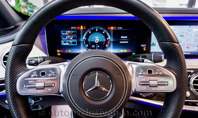 Mercedes S 350d Largo AMG -Mod. 2019 -Auto Exclusive BCN - Concesionario Ocasión Mercedes Barcelona_DSC6718