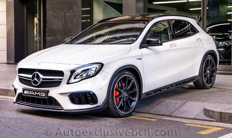 Mercedes GLA 45 AMG 4M - Blanco - Performance - Auto Exclusive BCN - Concesionario Ocasión Mercedes Barcelona_DSC6748