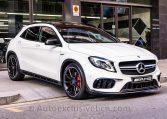 Mercedes GLA 45 AMG 4M - Blanco - Performance - Auto Exclusive BCN - Concesionario Ocasión Mercedes Barcelona_DSC6749