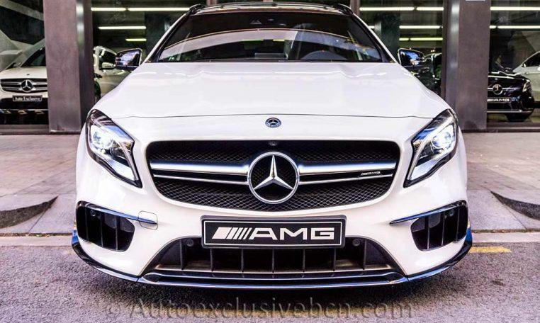 Mercedes GLA 45 AMG 4M - Blanco - Performance - Auto Exclusive BCN - Concesionario Ocasión Mercedes Barcelona_DSC6757