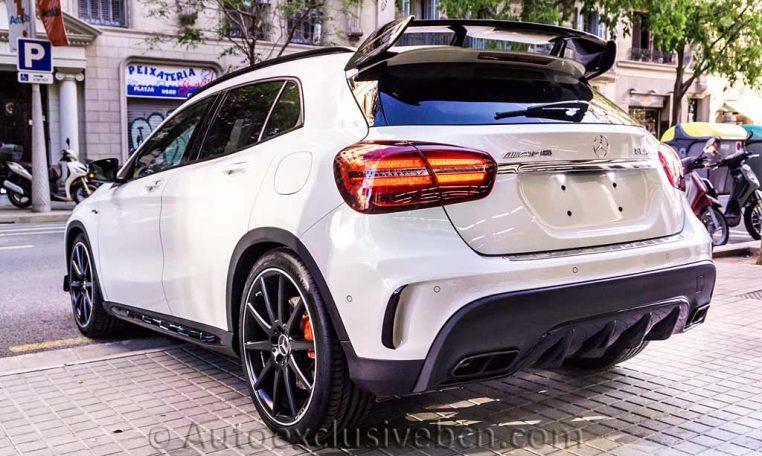 Mercedes GLA 45 AMG 4M - Blanco - Performance - Auto Exclusive BCN - Concesionario Ocasión Mercedes Barcelona_DSC6762