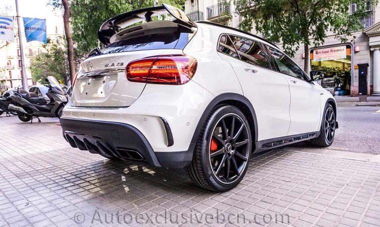 Mercedes GLA 45 AMG 4M - Blanco - Performance - Auto Exclusive BCN - Concesionario Ocasión Mercedes Barcelona_DSC6768