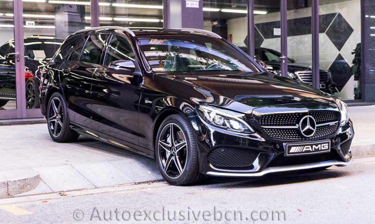Mercedes C 43 AMG-Estate 4M - Negro -Auto Exclusive-BCN-Concesionario-Ocasion-Mercedes-Barcelona__DSC7054-(1)