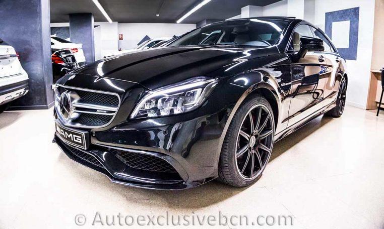 Mercedes CLS 63 AMG S - Negro - Auto Exclusive BCN, Concesioanrio Ocasión Mercedes Barcelona_DSC7288