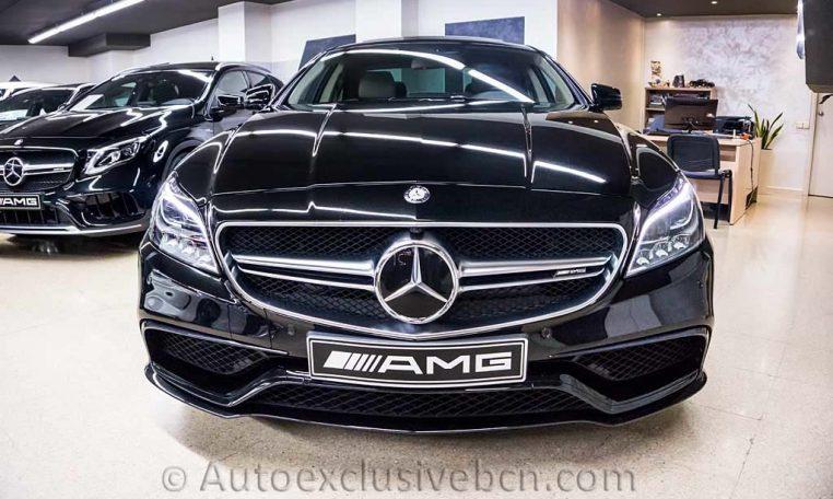 Mercedes CLS 63 AMG S - Negro - Auto Exclusive BCN, Concesioanrio Ocasión Mercedes Barcelona_DSC7290