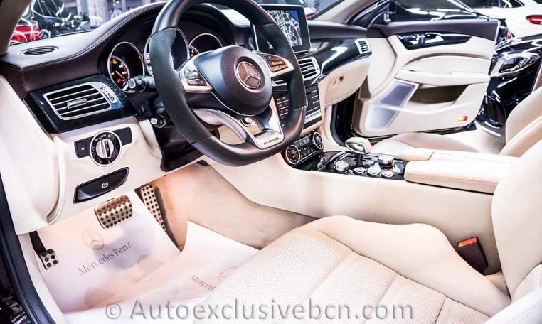 Mercedes CLS 63 AMG S - Negro - Auto Exclusive BCN, Concesioanrio Ocasión Mercedes Barcelona_DSC7295