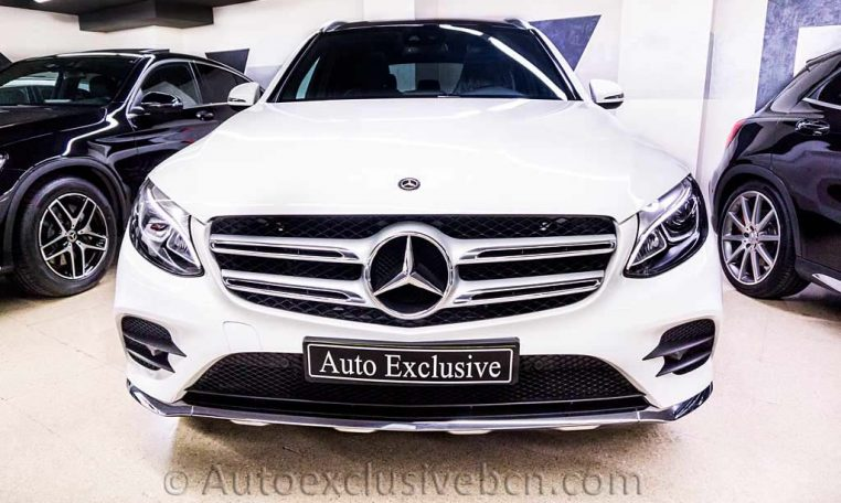 Mercedes GLC 250 4M AMG - Blanco - Auto Exclusive BCN - Concesionario Ocasion Mercedes Barcelona_DSC7205_1
