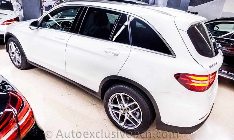 Mercedes GLC 250 4M AMG - Blanco - Auto Exclusive BCN - Concesionario Ocasion Mercedes Barcelona_DSC7219_1
