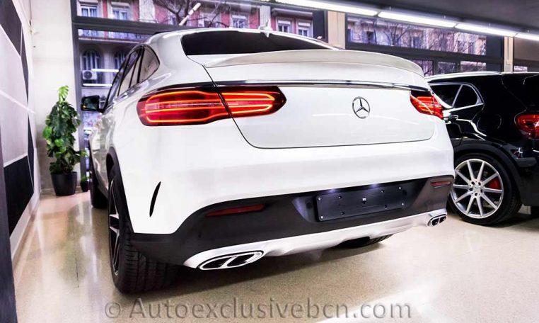 Mercedes GLE 43 AMG Coupè - Blanco - Auto Exclusive BCN - Concesionario Ocasión Mercedes Barcelona_DSC6563