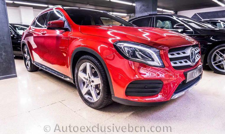 Mercedes GLA 220d AMG - Rojo - Auto Exclusive BCN_DSC7377