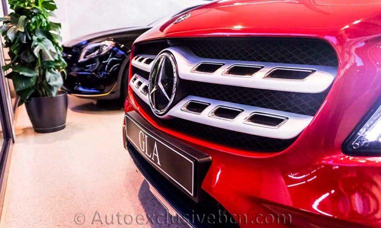 Mercedes GLA 220d AMG - Rojo - Auto Exclusive BCN_DSC7400