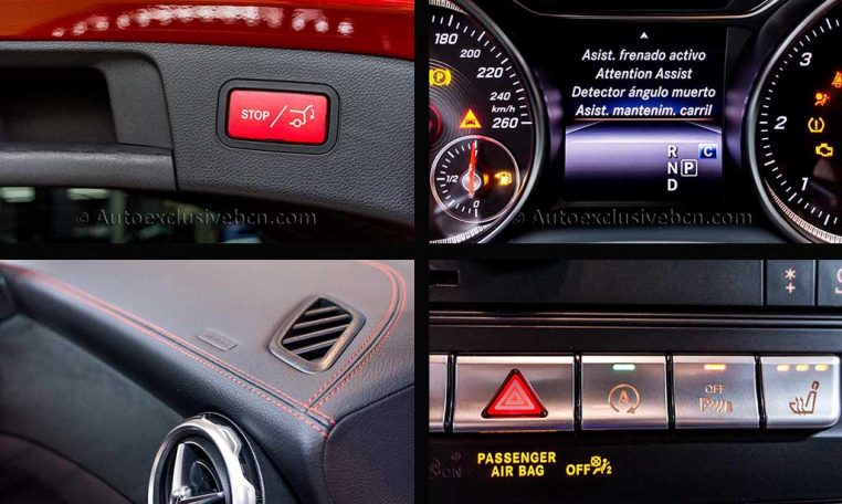Mercedes GLA 220d AMG - Rojo - Auto Exclusive BCN_4 Detalle2