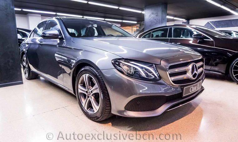 Mercedes E 220d Avantgarde - Auto Exclusive BCN_DSC7544