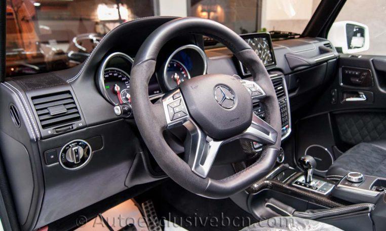 Mercedes G 500 4x4-2 - Auto Exclusive BCN - Concesionario Ocasión Mercedes Barcelona -_DSC5735