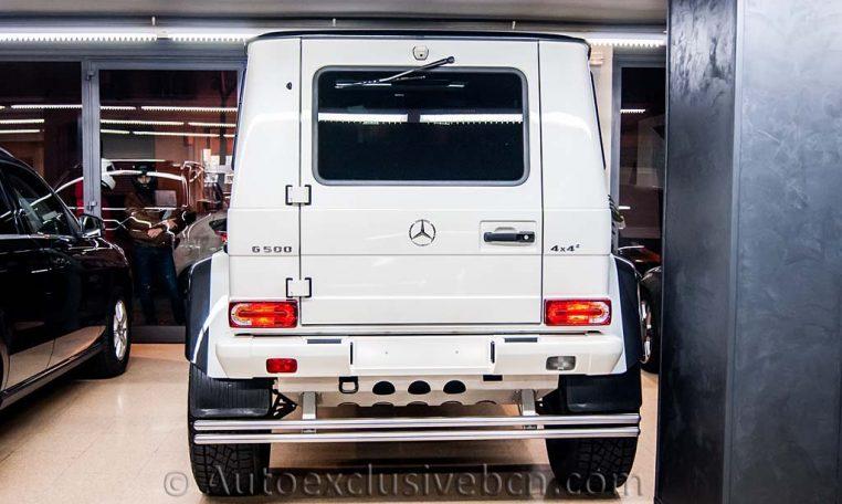 Mercedes G 500 4x4-2 - Auto Exclusive BCN - Concesionario Ocasión Mercedes Barcelona -_DSC5780