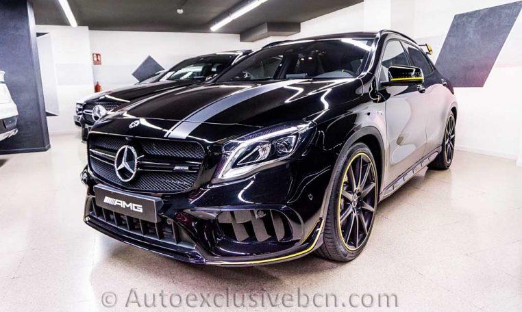 Mercedes GLA 45 AMG - Yellow Night Ed. - Auto Exclusive BCN_DSC7403