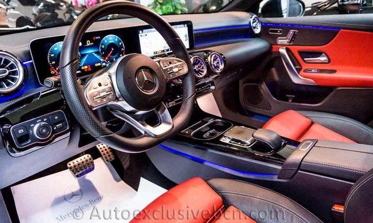 Mercedes A250 AMG -Negro -Piel- Auto Exclusive BCN_DSC7619