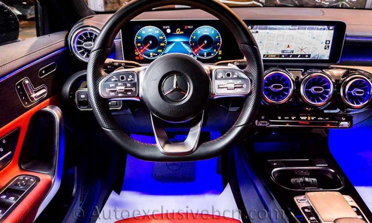 Mercedes A250 AMG -Negro -Piel- Auto Exclusive BCN_DSC7639