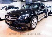 Mercedes C 220d Avantgarde - Negro -Piel Beige - Auto Exclusive BCN_DSC7953