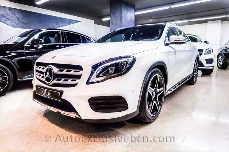 Mercedes-Benz-GLA 250 4M-AMG - Blanco -Auto Exclusive BCN-Concesionario Ocasion Mercedes Bercelona_DSC5893