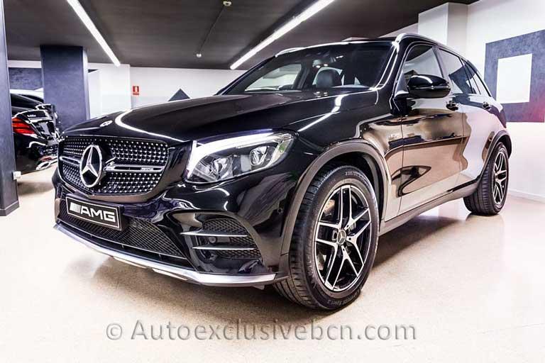 Mercedes-Benz-GLC 43 AMG -Negro-Auto Exclusive BCN-Concesionario Ocasión Mercedes Barcelona_DSC6686