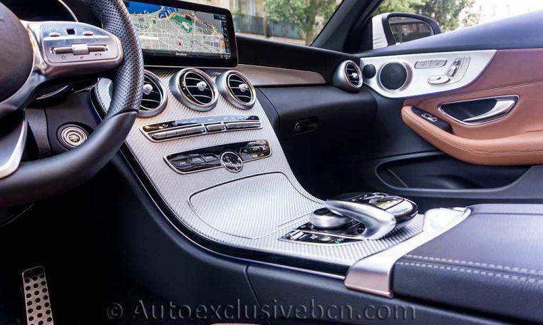 Mercedes C 300 Cabrio - Blanco -Marrón -Auto Exclusive BCNDSC00106