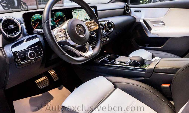 Mercedes A 250 AMG - Blanco - Piel - Auto Exclusive BCN - Concesionario Ocasión Mercedes Benz en Barcelona-DSC00359