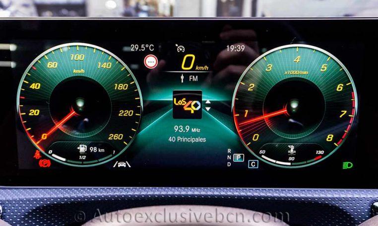 Mercedes A 250 AMG - Blanco - Piel - Auto Exclusive BCN - Concesionario Ocasión Mercedes Benz en Barcelona-DSC00375
