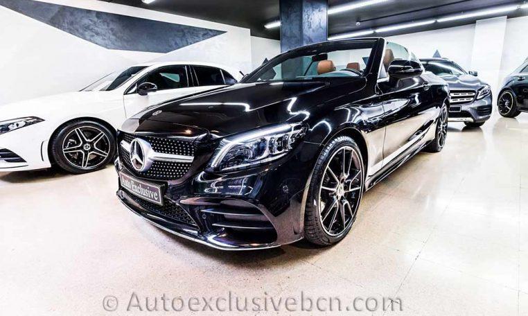 Mercedes C 300 AMG Cabrio - Negro - Piel MArrón -- Auto Exclusive BCN Concesionario Ocasión Mercedes Barcelona-DSC00592